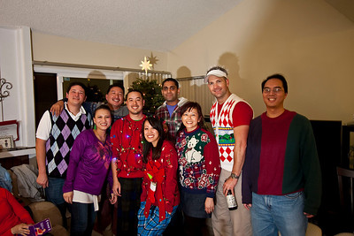 Xmas 2010 - Ugly Sweater & PJs!!!