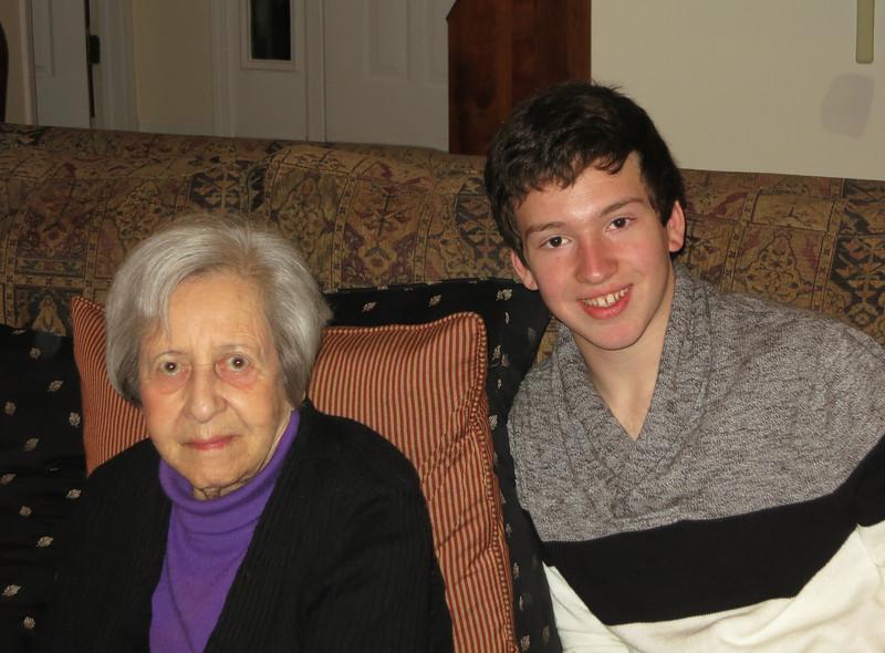 Mom & Josh