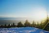 Glorious skiing weather