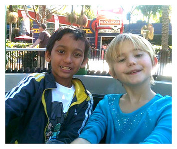 Peyton and Ella at Legoland