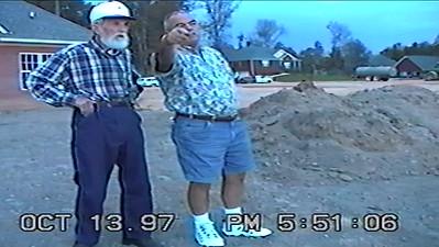 Oct 1997 Dad & Pappy watches Wynlake Development