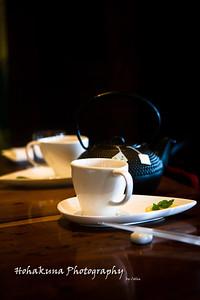 Fanciest Green Tea Presentation ever....