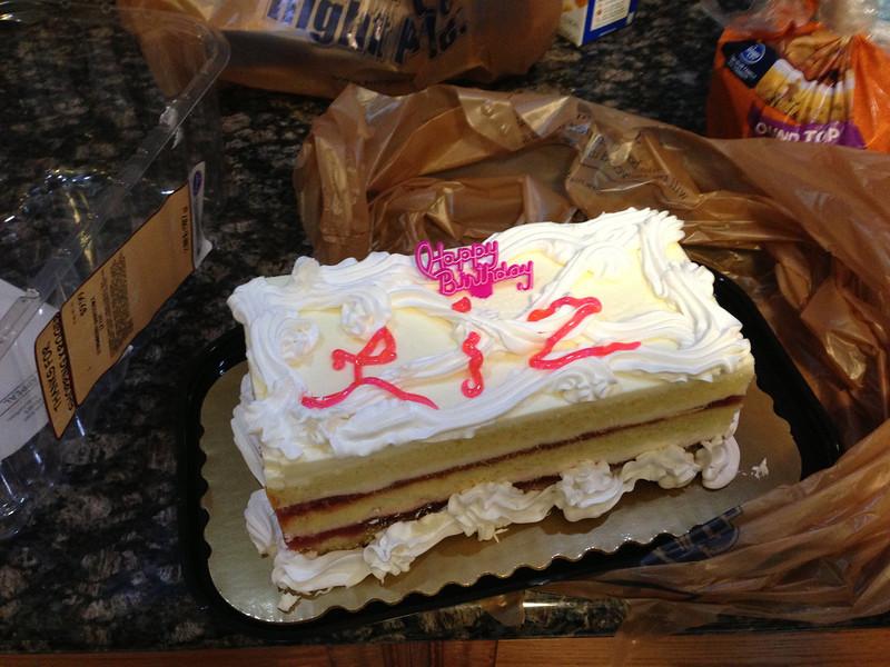 Liz Birthday Cake