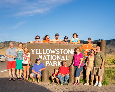 Yellowstone Reunion - July 2014