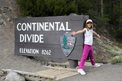 Sara, spanning the Continental Divide