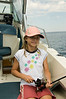 Sara, fishing for Cutthroat Trout