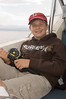Kevn, fishing for Cutthroat Trout on Lake Yellowstone