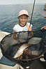 Sara, with the Cutthroat Trout She Caught