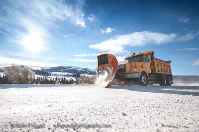 Some of the unsung heroes of Yellowstone.  These plow operators keep the road between Gardiner and Cooke City open throughout the winter.  No easy feat!