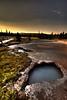 HDR Yellowstone 2011. Near Artist Paintpots. Shot on Canon 5d Mark II. Canon 16-35mm II
