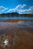 HDR Yellowstone 2011. Grand Prismatic Spring. Shot on Canon 5d Mark II. Canon 16-35mm II