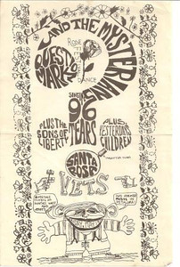 We played in concert with Question Mark and the Mysterians at the Rose Festival in Santa Rosa on May 17, 1967.