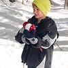 Billy enjoys snow tech