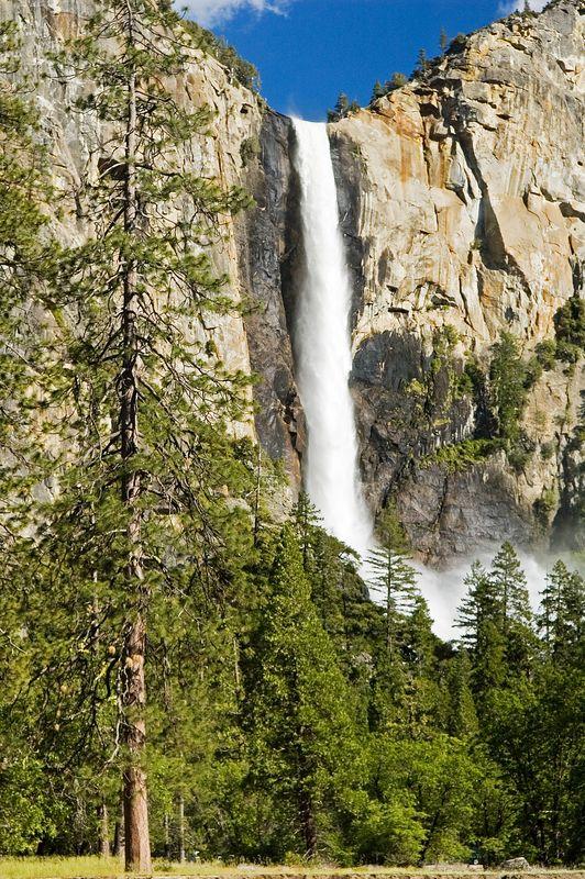 And a closer look at BridalVeil falls.