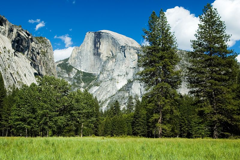 Another view of Half Dome.