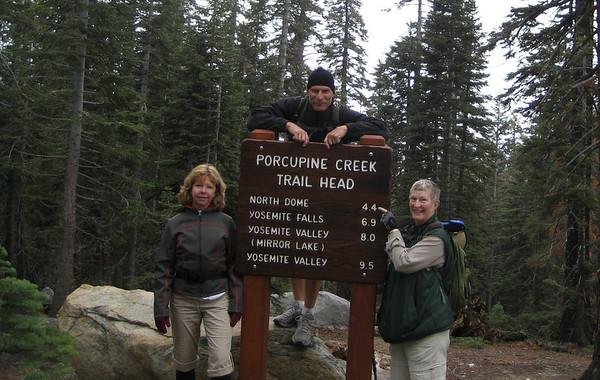 Yosemite with my Mom and Suzie June2009