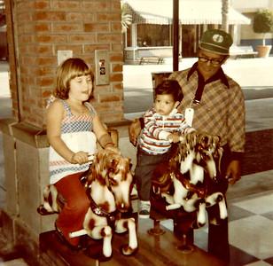 Jenny, Greg and Papa 1979