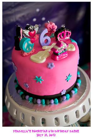 Ysabella's Rockstar 6th Birthday Bash