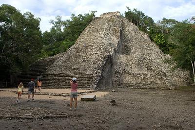 Coba - pyramid you can climb
