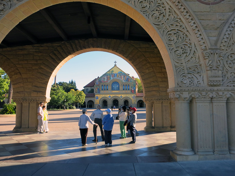 Memorial Church, Main Quad, Stanford