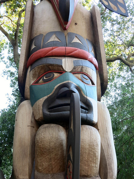 Mid-section of Totem