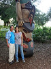 Yuval and Shani and Totem on Stanford Campus