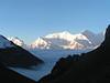 זריחה בגובה 4800 מטר<br /> 5:00am<br /> יוצאים לכיוון<br /> Thorong la pass 5416m