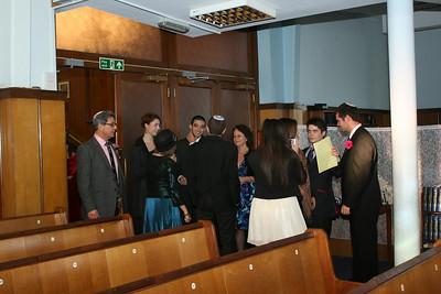 before ceremony