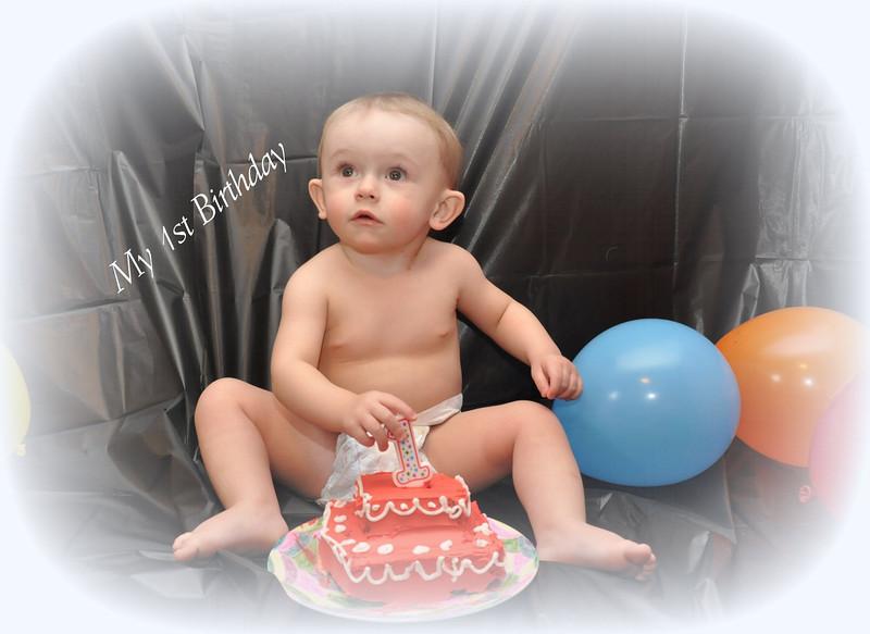 zach 1st birthday