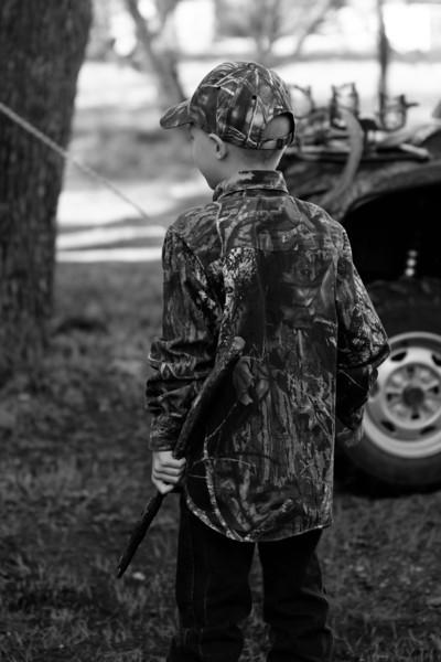 Zachary hunting photoshoot