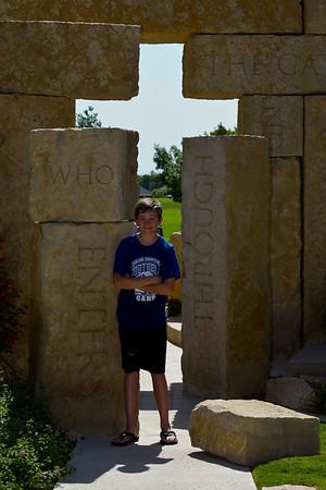Zach's Baptism 7-17-2010
