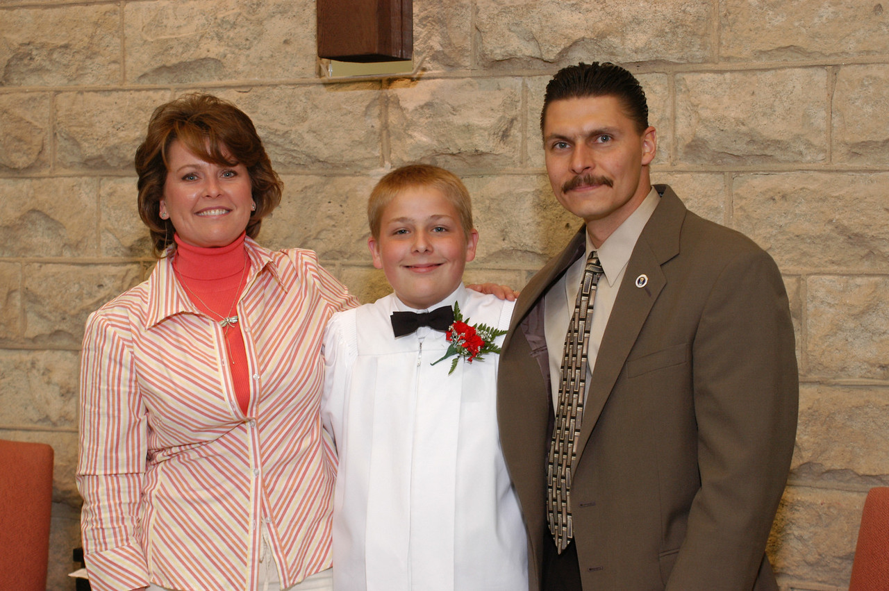 Aunt Jackie, Zak and Uncle Bob.