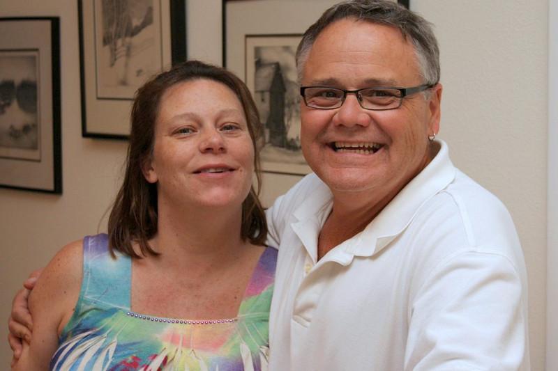 The proud parents