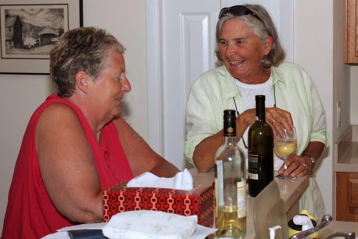 Pat and Betsy