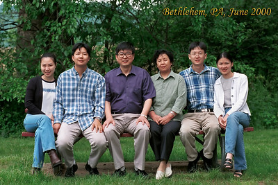 Zhang Family--Yearly Photos