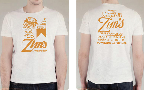 Retro t shirt company (out of business) offering Zim's t shirts on line