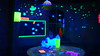 The black light room