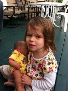 Zoe with Baby Todne at Americade 2012-06-09