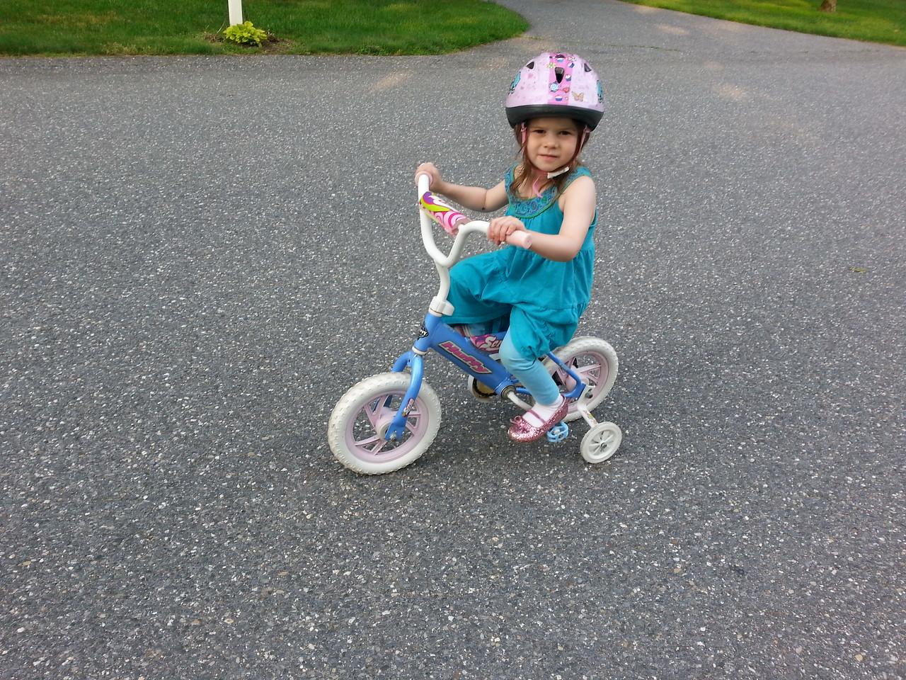Cycling the 'hood