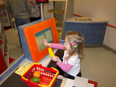 Zoey At Children's Museum