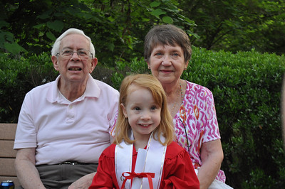 Zoie's Pre-K graduation