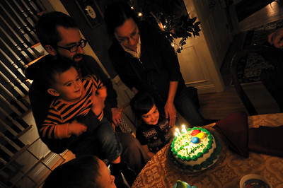 Fareedha's Birthday cake.