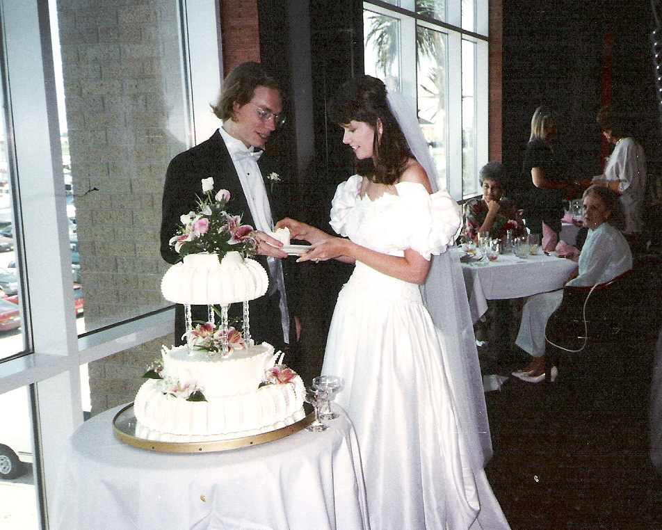 Mark & Susan's wedding 9-1-1993