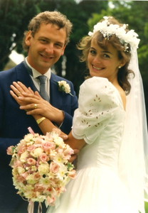 DM and Lindsey wedding 1987
