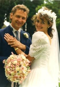 DM and Lindsey wedding 1987