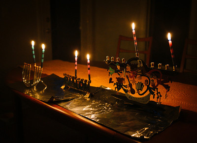 This Year, Three Menorahs