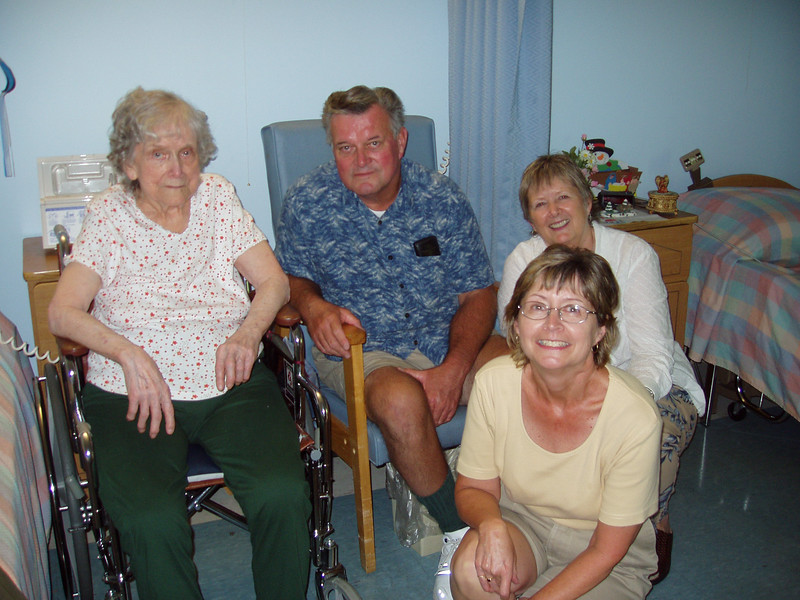 Aunt Vic, Dick, Jeanette, Mary  Boothwyne, PA 2004