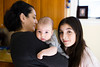 Sarah with Her Cousin and Aunt<br /> Leica M9, 35mm Summilux