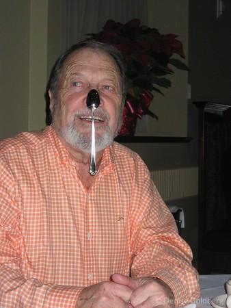 Dad, November 2005