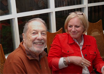 Dad & Liz ...photo provided by Brian Tepper